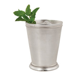 Derby Day Cup - Nothing says summer quite like a fresh mint julep. Serve yours up in this lovely silver-plated cup. Petite tooled details make it beautiful even when it's empty.