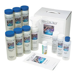Blue Wave - Blue Wave Std Spa Kit Chlorine - Standard chlorine spa start-up kit everything you need for a fresh start! This kit provides everything you need to get your freshly filled spa ready for use. High quality, fast-dissolving granular chlorine has a more neutral Ph than bromine. Add directly to your spa for immediate results. Standard chlorine kit contents: defense - pint ph increase - pint ph reduce - pint foam free - 8 oz. re-energize - 8 oz. sanitizing granules - 8 oz. metal free - pint clear n' sparkle - pint calcium increaser - 14 oz. clean n' fast - pint test strips - 10 each spa care guide