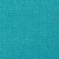 Turquoise Solid Textured Outdoor Indoor Upholstery Fabric By The Yard - This upholstery fabric suitable for indoor and outdoor applications. The fabric is water, soil, mildew and fading resistant. It is also Scotchgarded for further protection. It is cleanable with warm water and soap. Uniquely Made in America!