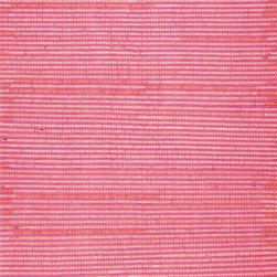 Surya - Surya Solid/Striped Boxy Carnation 2'x3' Rectangle Area Rug - Made using recycled materials the flawless rugs found within the Boxy Collection by Papilio for Surya will create a sense of ecofriendly design while still maintaining a hint of incomparable trend. With a unique and abstract stripe pattern that pairs perfectly with a burst of carnation coloring these perfect pieces easily cement themselves as the focal point of your home decor. Embodying faultless elements of construction and fashioning a fusion