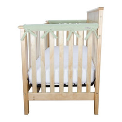 Trend Lab - Trend Lab Cribwrap Narrow Rail Cover - Short Sage Green Fleece - 109074 - Shop for Crib Bumper Pads from Hayneedle.com! Keep baby out of harm's way and keep your crib in good shape with the Trend Lab Cribwrap Narrow Rail Cover - Short Sage Green Fleece. This rail cover adds a soft layer of padding to your crib rail and has a waterproof backing so no matter what happens your rail stays in good condition. The soft sage green color is soothing and can be used with many other color schemes. The rail is universal and can be used for a boy or girl crib. About Trend LabFormed in 2001 in Minnesota Trend Lab is a privately held company proudly owned by women. Rapid growth in the past five years has put Trend Lab products on the shelves of major retailers and the company continues to develop thoroughly tested high-quality baby and children's bedding decor and other items. Trend Lab continues to inspire and provide its customers with stylish products for little ones. From bedding to cribs and everything in between Trend Lab is the right choice for your children.