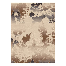"Dynamic Rugs - Dynamic Rugs Treasure 4473-130 (Cream) 5'3"" x 7'7"" Rug - This Machine Made rug would make a great addition to any room in the house. The plush feel and durability of this rug will make it a must for your home. Free Shipping - Quick Delivery - Satisfaction Guaranteed"