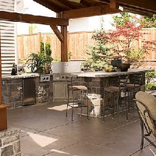 Small outdoor kitchen pics