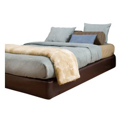 Avanti Full-size Platform Bed and Headboard Kit