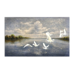 """Arrival Of The Birds"" Canvas Art"