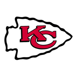 Brewster Home Fashions - NFL Kansas City Chiefs Teammate Logo Wall Sticker Decal - FEATURES: