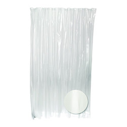 Zenith - Zenith H29KK PVC/Vinyl Clear Heavy Gauge Shower Curtain Liner - Zenith H29KK PVC/Vinyl Clear Heavy Gauge Shower Curtain LinerThis high quality liner is made of extra heavy gauge vinyl. It resists mildew and cleans easily with soap and water. Its grommets provide strength and durability while its weighted hem holds securely to the tub edge.Zenith H29KK PVC/Vinyl Clear Heavy Gauge Shower Curtain Liner, Features:&#149 Mildew resistant to keep your shower area clean longer