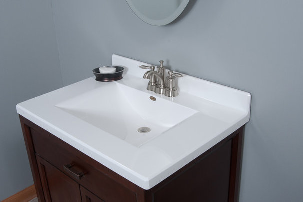 Modern Vanity Tops And Side Splashes by Imperial Marble Corporation