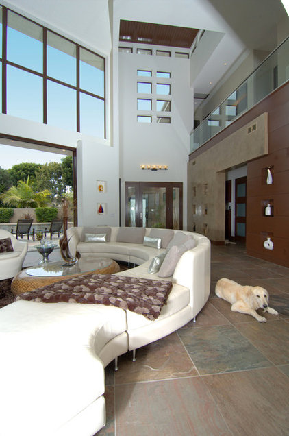 Contemporary Living Room by Otis Architecture
