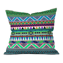 Bianca Green Esodrevo Outdoor Throw Pillow - Do you hear that noise? it's your outdoor area begging for a facelift and what better way to turn up the chic than with our outdoor throw pillow collection? Made from water and mildew proof woven polyester, our indoor/outdoor throw pillow is the perfect way to add some vibrance and character to your boring outdoor furniture while giving the rain a run for its money.