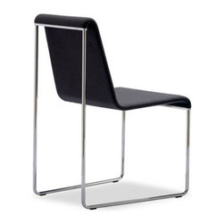 B&T Design - Slender Chair, Genuine Leather Furtuna - 436 - Slender Chair