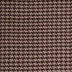 Hook & Loom Rug Company - Hounds Tooth Taupe/Brown Rug, Taupe/Brown, 2.5'x9' - Very eco-friendly rug, hand-woven with yarns spun from 100% recycled fiber.  Color comes from the original textiles, so no dyes are used in the making of this rug.  Made in India.