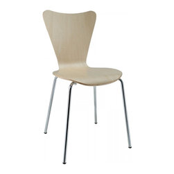Modway Imports - Modway EEI-537-NAT Ernie Dining Side Chair In Natural - Modway EEI-537-NAT Ernie Dining Side Chair In Natural