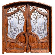 Eclectic Front Doors by SCOTTSDALE ART FACTORY