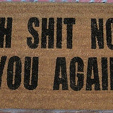 Modern Doormats by Coco Mats N More