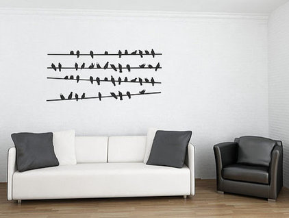 Contemporary Wall Decals by Not on the High Street