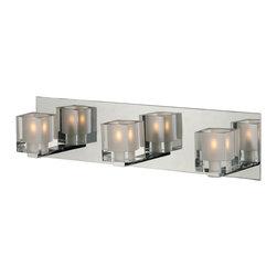 ET2 - E22032 Blocs 2-lt Bath Vanity - Blocs 3-Light Bath Vanity