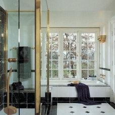 Traditional Bathroom by Benvenuti and Stein