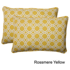 Pillow Perfect 'Rossmere' Outdoor Oversized Throw Pillows (Set of 2) | Overstock