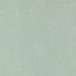 """Ballard Designs - Trilby Basketweave Seafoam Fabric By The Yard - Content: 92% polyester and 8% linen. Repeat: Railroaded fabric. Care: Dry clean. Width: 56"""" wide. Thick, grain-sack weave of seafoam poly-linen blend.  .  .  .  . Because fabrics are available in whole-yard increments only, please round your yardage up to the next whole number if your project calls for fractions of a yard. To order fabric for Ballard Customer's-Own-Material (COM) items, please refer to the order instructions provided for each product.Ballard offers free fabric swatches: $5.95 Shipping and Processing, ten swatch maximum. Sorry, cut fabric is non-returnable."""