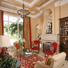 Mediterranean Living Room by Naples Kitchen and Bath
