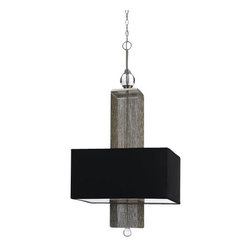 "AF Lighting - AF Lighting 8446-3H Candice Olson ""Casby"" Three-Light Down Lighting Pendant, Fin - AF Lighting 8446-3H Candice Olson ""Casby"" Three-Light Down Lighting Pendant, Finished in Silver and NickelThe new Casby is an unexpected mix of materials. The delicate chains bring together classic and modern design. The light plays through the chains to create a great warm glow. Pendant is hardwired only.AF Lighting 8446-3H Features:"