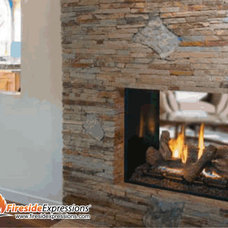 Contemporary Indoor Fireplaces by CJ's Home Decor & Fireplaces