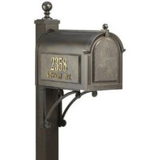 Traditional Mailboxes Whitehall Superior Mailbox Package