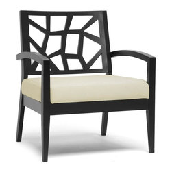 Wholesale Interiors - Jennifer Lounge Chair - Evoking a combination of nature-inspired and Danish modern style, our Jennifer Lounge Chair is the perfect accompaniment to your living room seating area.