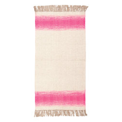 Surya - Surya Shine SHN-2001 (Aloe, Hot Pink) 4' x 6' Rug - This Hand Woven rug would make a great addition to any room in the house. The plush feel and durability of this rug will make it a must for your home. Free Shipping - Quick Delivery - Satisfaction Guaranteed