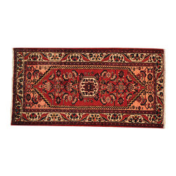 3' x 6' 100% Wool Hand Knotted Red Persian Bakhtiari Oriental Rug Runner SH16042 - Hand Knotted Persian Rugs From Iran are know to be the highest quality rugs from around the world.  The weavers from Iran are also known to be the most skilled.  There's many different persian designs and these designs are derived from the city that they're woven in.
