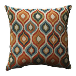 Pillow Perfect Flicker Jewel 18-inch Throw Pillow -