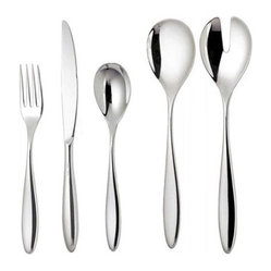 Mami 24 Piece Cutlery Set in Mirror Polished by Stefano Giovannoni