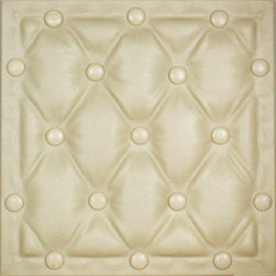 Decorative Ceiling Tiles - Antique Upholstery - Faux Leather Ceiling Tile - #DCT LRT22 - Find copper, tin, aluminum and more styles of real metal ceiling tiles at affordable prices . We carry a huge selection and are always adding new style to our inventory.