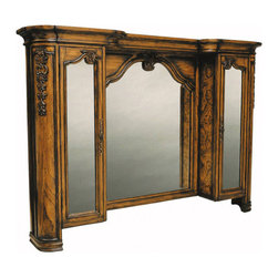 """Ambella Home Collection - Ambella Home Collection - Trenton Mirror with Medicine Cabinet -... - For any questions please call 800-970-5889.Ambella Home Collection - Trenton Mirror with Medicine Cabinet - 08917-140-074 �Features:Trenton Collection MirrorSolid Wood MaterialBrown FinishTraditional StyleSome Assembly Required �Dimensions:�W 27.5"""" x D 3"""" x H 42.5"""""""