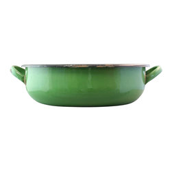 EuroLux Home - Large French Green Enamel Casserole Baking - Product Details