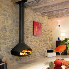 Contemporary Indoor Fireplaces by Diligence International