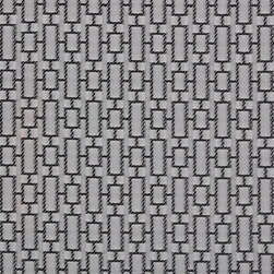 Black, Silver Small Rectangles Luxurious Faux Silk Upholstery Fabric By The Yard - This upholstery fabric feels and looks like silk, but is more durable and easier to maintain. This fabric will look great when used for upholstery, window treatments or bedding. This material is sure to standout in any space!