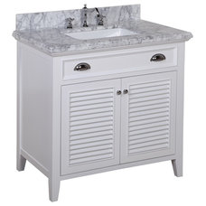 Beach Style Bathroom Vanities And Sink Consoles by Kitchen Bath Collection