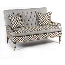 Eclectic Love Seats by MacKenzie-Childs