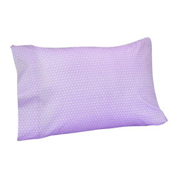 Sweet Jojo Designs - Purple Mod Dots Sheet Set - The Purple Mod Dots Sheet Set is the perfect accessory for your Sweet Jojo Designs Bedding Set. This set is made of 100% cotton and is machine washable for easy care.