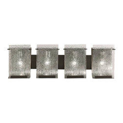 Varaluz Rain Modern Rainy Night Antiqued Bath Light -
