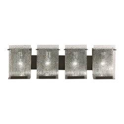 Varaluz Rain Modern Rainy Night Antiqued Bath Light -