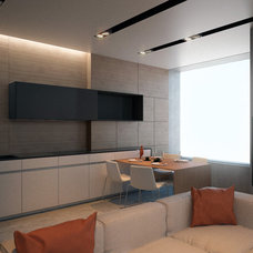 Tropical Kitchen by Lompier Interior Group