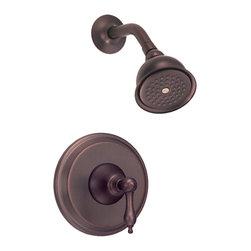 Danze - Danze D500540RBT One Handle Shower Trim Oil Rub Bronze - Danze D500540RBT Oil Rubbed Bronze Shower Only Faucet Trim is part of the Fairmont Bath collection.  D500540RBT Shower Only Trim requires D112000BT or D115000BT rough-in valve, sold separately.  D500540RBT Single lever handle meets all requirements of ADA.