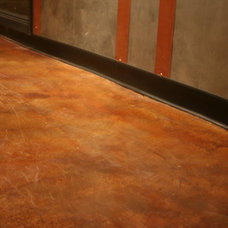 Modern Flooring by Concrete Arts