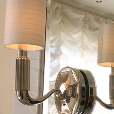 traditional wall sconces by Jamie Herzlinger