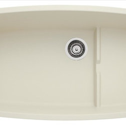 Blanco - Blanco Cascade Biscuit Sink - Rock hard SILGRANIT II PERFORMA CASCADE features a self draining platform area and works with the new BLANCO SOLON compost system
