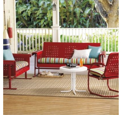 traditional patio furniture and outdoor furniture by Grandin Road