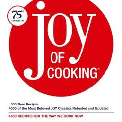 Joy of Cooking: 75th Anniversary Edition - Here's a classic to add to your shelf. It has simple steps with a realistic voice. It's now in its 9th edition and is still family run.